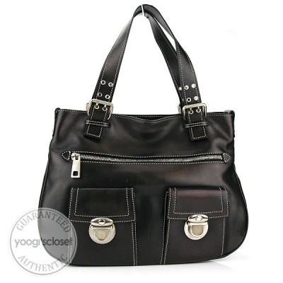 Marc Jacobs Black Calfskin New Stella Bag