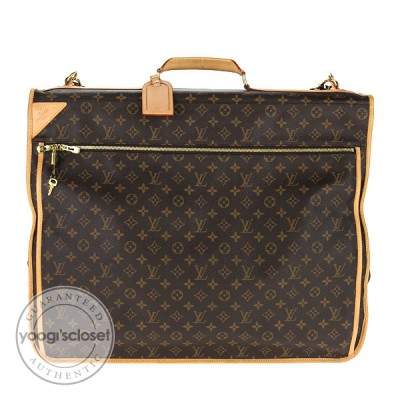 Louis Vuitton Monogram Canvas Garment Carrier w/ 5 Hangers