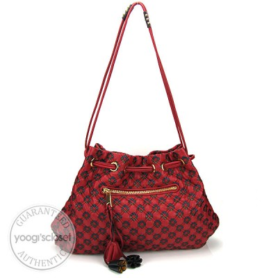 Marc Jacobs Quilted Calfskin Leather Memphis Robert Jessica Bag