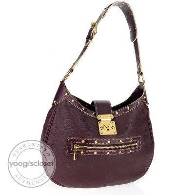 Louis Vuitton Plum Suhali L'Affriolant Bag