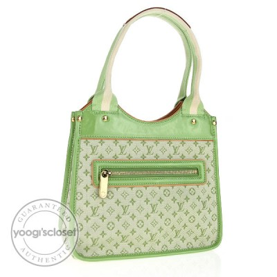 Louis Vuitton Green Monogram Mini Sac Kathleen Bag