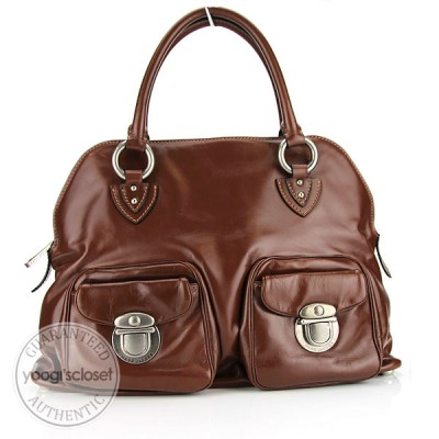 Marc Jacobs Brown Leather Roxanne Bag