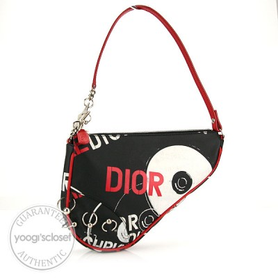 Christian Dior Limited Edition Hardcore Small Saddle Bag