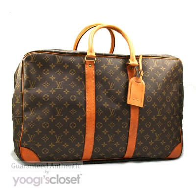 Louis Vuitton Monogram Canvas Double Compartment Soft Suitcase 54