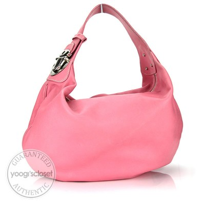 Marc Jacobs Pink Round Hobo Bag