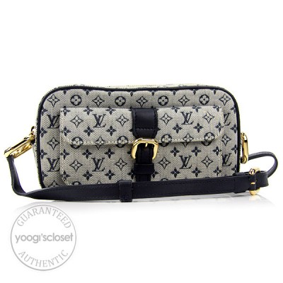 Louis Vuitton Blue Mini Monogram Juliette Bag