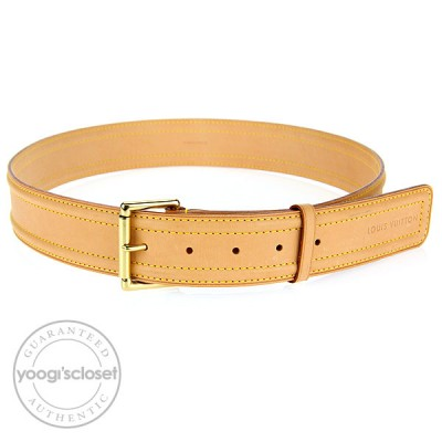 Louis Vuitton Vachetta Belt