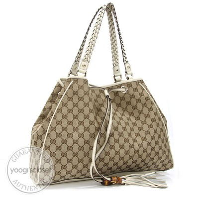Gucci Silver Metallic Medium Babouska Indy Top Handle Bag