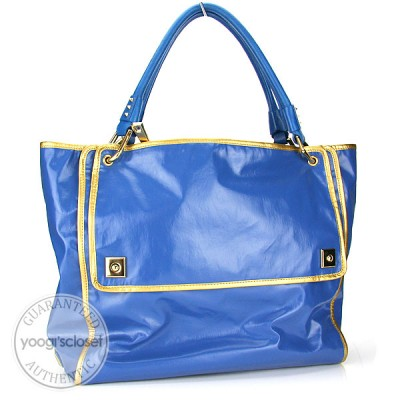 Marc Jacobs True Blue Fresh Drew Tote Bag