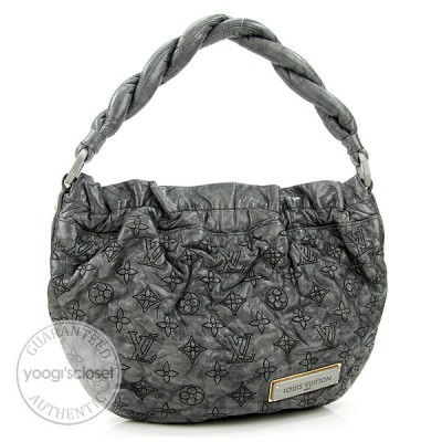 Louis Vuitton Anthracite Monogram Olympe Nimbus PM Bag
