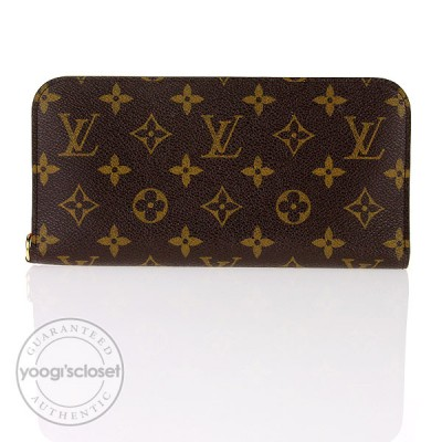 Louis Vuitton Pink Monogram Canvas Insolite Wallet