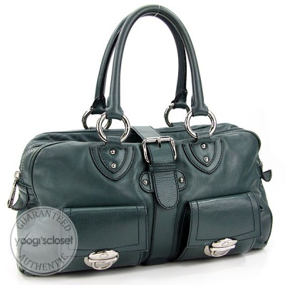 Marc Jacobs Teal Venetia Satchel Bag