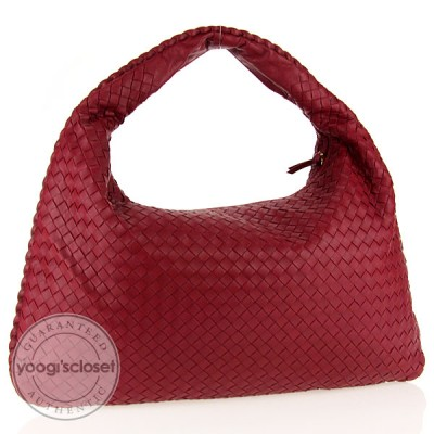 Bottega Veneta Ruby Large Veneta Hobo Bag
