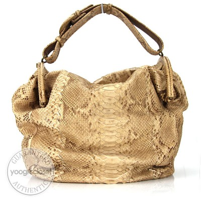 Bottega Veneta Limited Edition Duette Python Bag