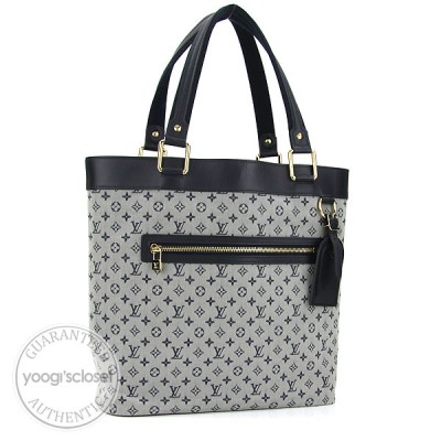 Louis Vuitton Blue Mini Monogram Lucille GM TST Bag