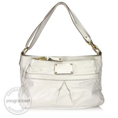 Marc Jacobs White Leather Palais Royale Bag