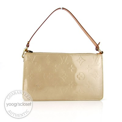 Louis Vuitton Beige Monogram Vernis Lexington Accessory Pouch