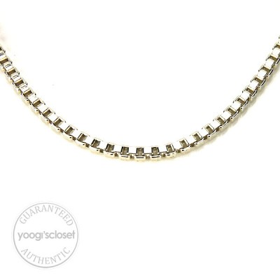 Tiffany & Co. Silver Venetian Necklace Link
