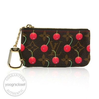 Louis Vuitton Limited Edition Cerises Key and Change Holder