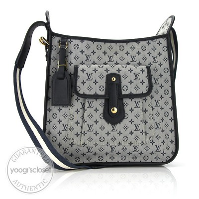 Louis Vuitton Blue Monogram Mini Mary Kate Bag