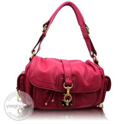 Marc Jacobs Deep Azalea Calfskin Selma Shoulder Bag
