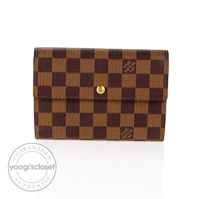 Louis Vuitton Damier Canvas Porte-Tresor Etui Papiers Wallet