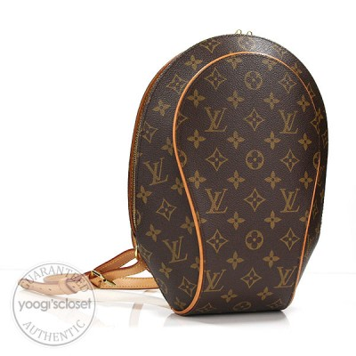 Louis Vuitton Monogram Canvas Ellipse Sac a Dos Backpack