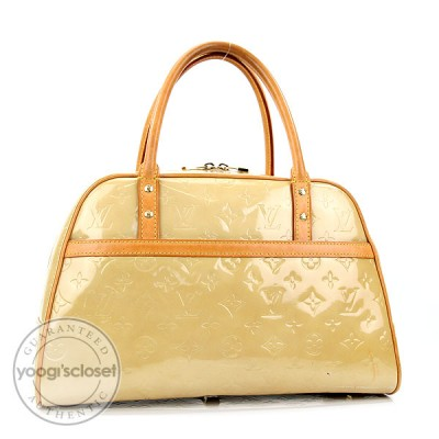 Louis Vuitton Monogram Beige Vernis Tompkins Square Bag