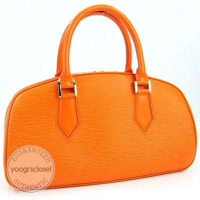 Louis Vuitton Mandarin Epi Leather Jasmin Bag
