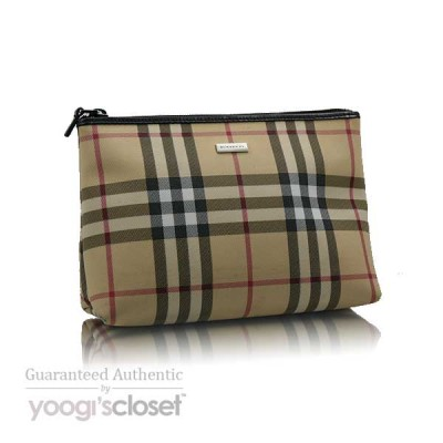 Burberry Classic Nova-Check Large Cosmetic Bag