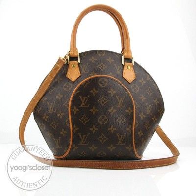 Louis Vuitton Monogram Canvas Ellipse PM Bag w/Detachable Long Strap