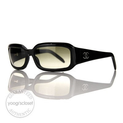 Chanel Black Gradient Lenses Sunglasses 5064