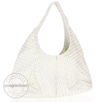 Bottega Veneta Marmo Leather Ball Hobo Bag