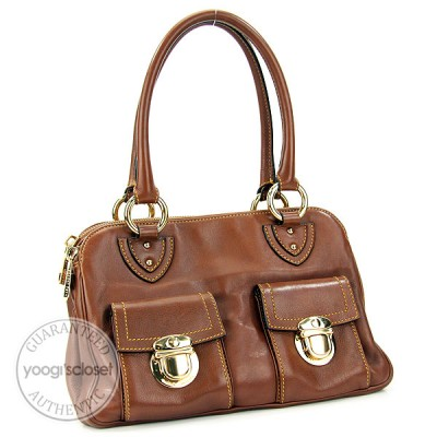 Marc Jacobs Cocoa Classic Blake Bag