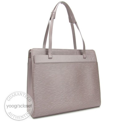 Louis Vuitton Lilac Epi Leather Croisette PM Bag