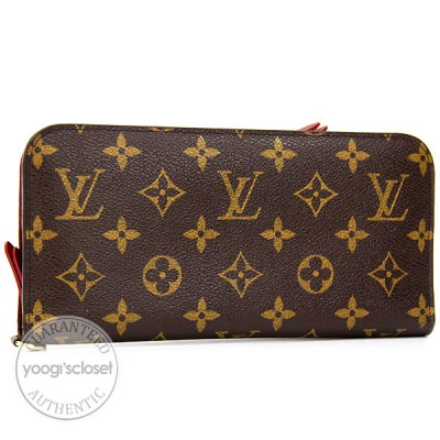 Louis Vuitton Rubis Monogram Canvas Insolite Wallet
