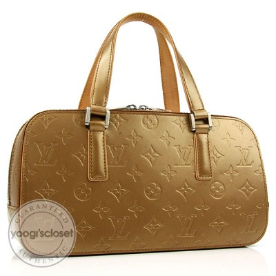 Louis Vuitton Amber Monogram Mat Shelton Bag