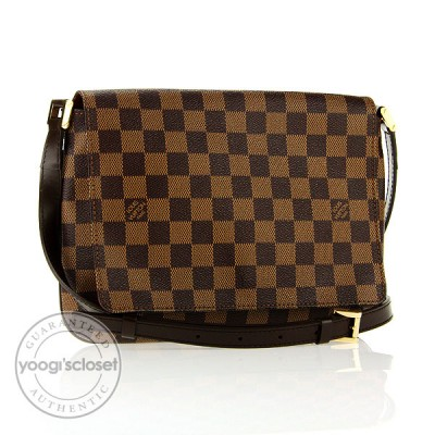 Louis Vuitton Damier Canvas Musette Tango w/Long Strap Bag