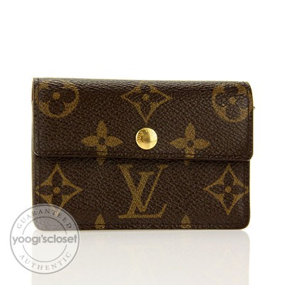 Louis Vuitton Monogram Monnaie Accordeon Wallet