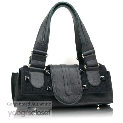 Chloe Limited Edition Black Jewel Satchel Bag