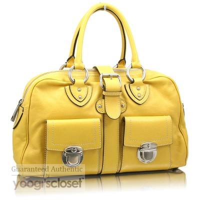 Marc Jacobs Yellow Venetia Satchel Bag