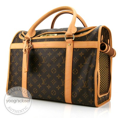 Louis Vuitton Monogram Canvas Sac Chien (Dog Carrier)