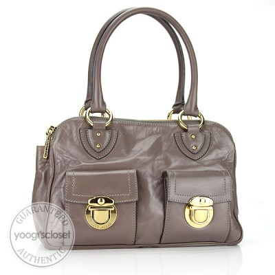 Marc Jacobs Grey Classic Blake Bag