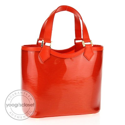 Louis Vuitton Mandarin Orange Epi Plage Mini Lagoon Bay Bag
