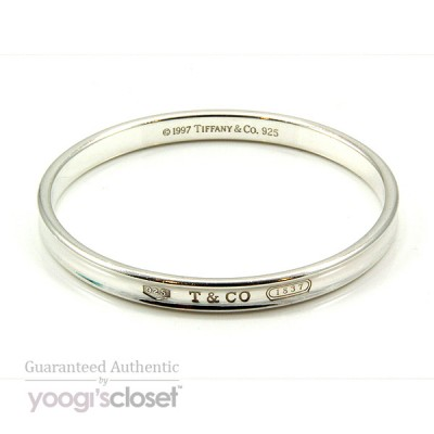 Tiffany & Co. Silver 1837 Bangle
