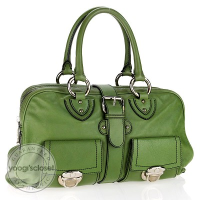 Marc Jacobs Sap Green Calfskin Leather Venetia Bag