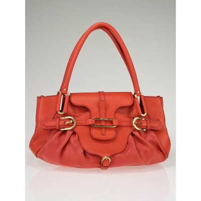 Jimmy Choo Coral Leather Tam Bag