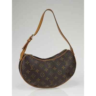 Louis Vuitton Monogram Canvas Croissant Pochette PM Bag