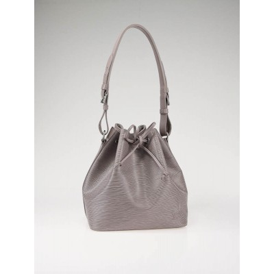 Louis Vuitton Lilac Epi Leather Petite Noe Bag