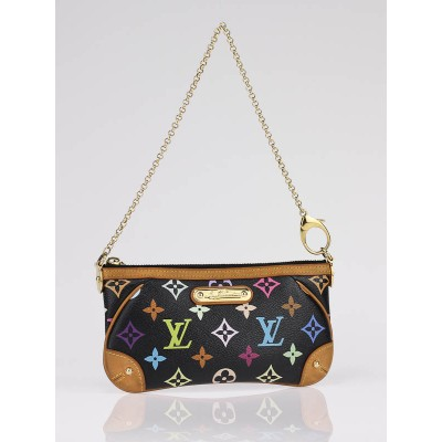 Louis Vuitton Multicolore Monogram Canvas Milla Clutch MM Bag